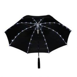 Regenschirm 64 Led | Schwarz