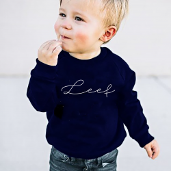 Kids Sweater Leef | Blue