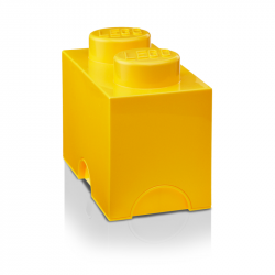 Storage Bricks 2 Medium Yellow
