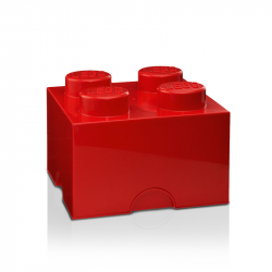 Storage Brick 4 Large | Red