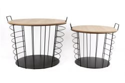 Tables d'Appoint Lennart Set de 2