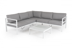 Lounge Set Leone | White