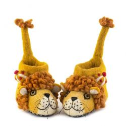 Children's Slippers Leopold the Lion | Yellow