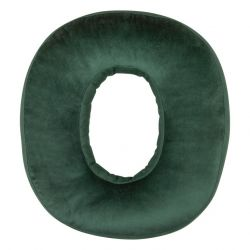 Cushion Number Velvet Green | 0