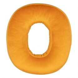 Cushion Number Velvet Yellow | 0