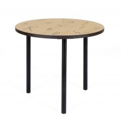 Table d'Appoint Lettre | Ø 50 cm