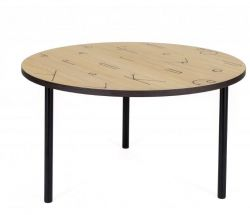 Table d'Appoint Lettre | Ø 70 cm