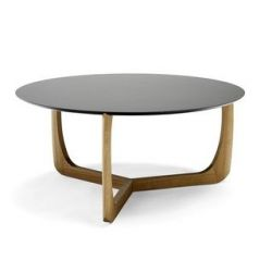 Lili Lounge Table | Oak/Black