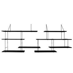 Shelving System LINK Duo | True Black
