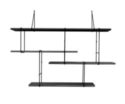 Shelving System LINK Set 1 | True Black