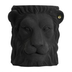 Pot Outdoor Big Lion | Black