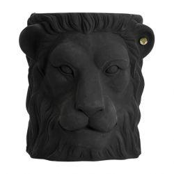 Pot Outdoor Big Lion | Black