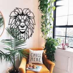 Wall Deco Lion
