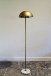 Floor Lamp with Marble Foot