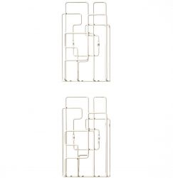 Little Saturday Magazine Rack White- 2pcs