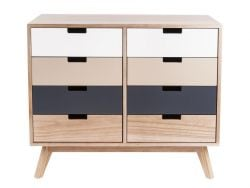 Cabinet Snap | Eight Drawers