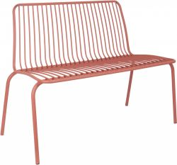 Garden Bench Lineate | Clay Brown