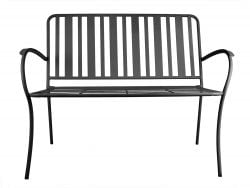 Outdoor Bench Lines | Matt Black