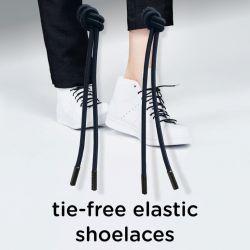 Last Knot Elastic Shoelaces | Black