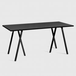 Loop Stand Table | Noir