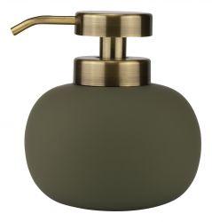 Seifenspender Niedriger Lotus | Dunkle Olive