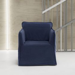Sleeping Arm Chair Lou-lou | Blue