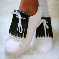 Shoe Fringes | Racing Green