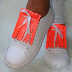 Shoe Fringes | Fluo Alert