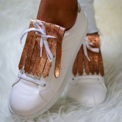 Shoe Fringes | Bronze Allure