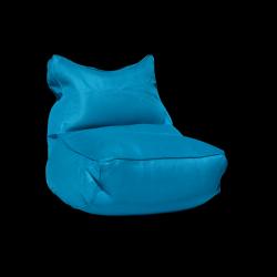 Pouf Lounge 90 x 60 cm | Bleu