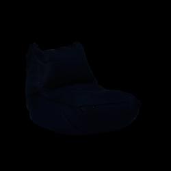 Pouf Lounge 90 x 60 cm | Noir