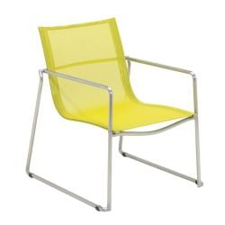 Asta Stacking Lounge Chair | Citrus