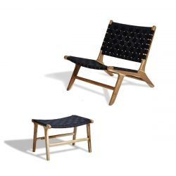 Lounge Set | Stuhl & Hocker