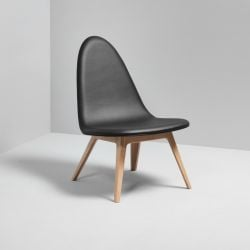 Lounge Chair Oak | Black