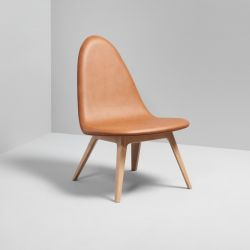 Lounge Chair Oak | Brown