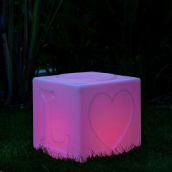 Wasserdichte Mehrfarben Led-Lampe LOVE