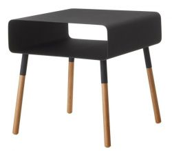 Table d'Appoint Basse Plain | Noir