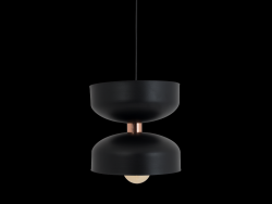 Pendant Lamp Woman Large | Black