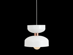 Pendant Lamp Woman Medium | White