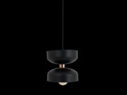 Pendant Lamp Woman Small | Black