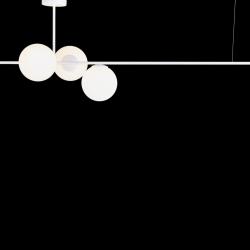 Pendelleuchte BOBLER horizontal | Weiß