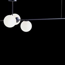 Pendelleuchte BOBLER horizontal | Schwarz