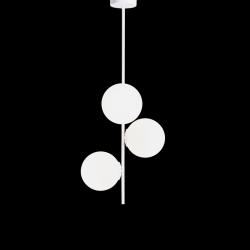 Pendelleuchte BOBLER vertikal | Weiß
