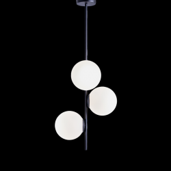 Pendelleuchte BOBLER vertikal | Schwarz