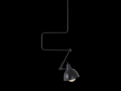 Lampe Suspension Coben | Noir