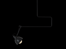 Lampe Suspension Coben Wide | Noir