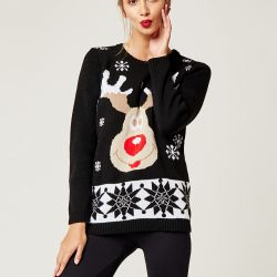 Christmas Sweater | Black