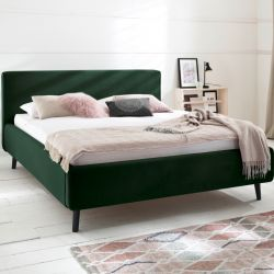 Upholstered Bed Luana | Green
