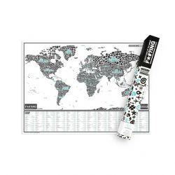 Rubbelkarte mit Shimpfwörter Aus Der Ganzen Welt