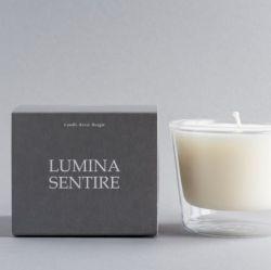 Lumina Sentire Scented Candle | Non Scented